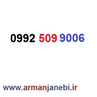 ۰۹۹۲-۵۰۹-۹۰۰۶