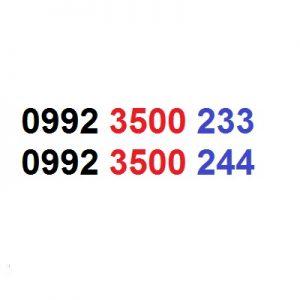 دو عدد سیم کارت ست و پشت سر هم سریالی