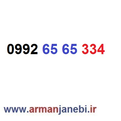 ۰۹۹۲-۶۵-۶۵-۳۳۴